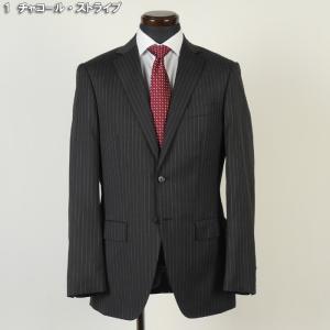スーツ ビジネススーツ メンズ  ノータック スリム 紳士 タックなし イタリア ブランド Y7 16000 GS40014|y-souko
