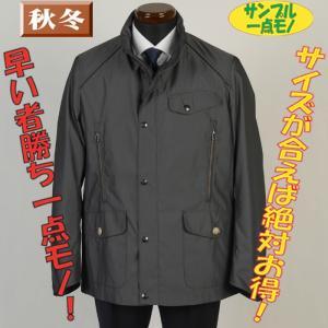 コートSC54143−Lサイズスタンドカラーコートピンヘッド柄 一点物サンプル コート SG−L 7000|y-souko