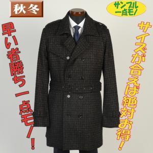 コートSC74067−Mサイズトレンチコートウール素材 ビジネスコート SG−M 16000|y-souko