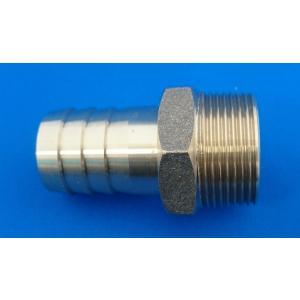 配管 接手 砲金 BC ホースニップル 3/4用(20A)ホース内径19mm ポンプ 配管 ホース|y-square