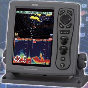 GPS 魚探 光電 KODEN CVG-87 GPSアンテナ付 出力600W プロッター魚探 プロッター 魚群探知機 CVG87|y-square