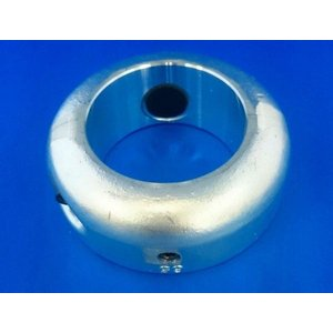 48Φ プロペラ用 ペラ軸 シャフト保護亜鉛 48mm 二つ割 シャフト亜鉛 シャフトアエン ペラ亜鉛 ペラアエン プロペラ亜鉛 防蝕亜鉛 y-square