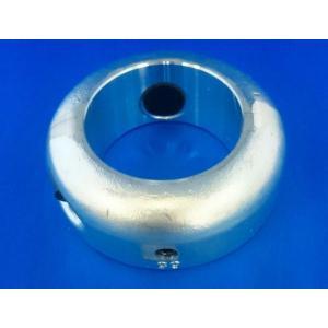 65Φ プロペラ用 ペラ軸 シャフト保護亜鉛 65mm 二つ割 シャフト亜鉛 シャフトアエン ペラ亜鉛 ペラアエン プロペラ亜鉛 防蝕亜鉛 y-square
