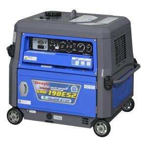 ●最安値● デンヨー 防音型エンジン溶接機 GAW-190ES2 (発電機兼用型/セル式)  GAW190ES2 発電機 溶接機 GAW190ES2 y-square