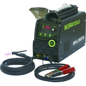 育良精機 ISK-Li160TIG ライトティグ ポータブルバッテリーパルスTIG溶接機 イクラ ISKLi160 充電式コードレスTIG溶接機 y-square