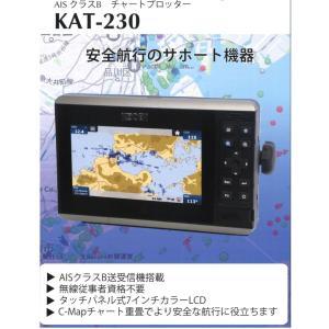 チャートプロッター 光電 KAT-230 7インチカラー液晶チャートプロッター GNSSアンテナセット 光電製作所  KAT230|y-square