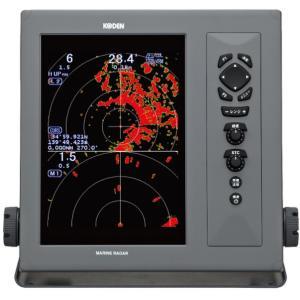 光電 KODEN MDC-2040AF 10.4インチ 液晶カラーレーダー 4kW 130cm アンテナ 光電製作所   レーダー ボート 船舶|y-square