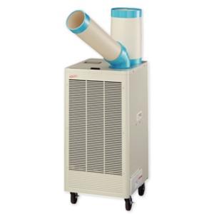 ナカトミ N-407TC スポットエアコン 首振り (単相100V) キャスター付き  排熱ダクト付きスポットエアコン 小型 スポットクーラー 冷風機 業務用 エアコン N407TC y-square