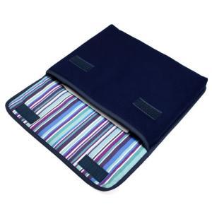 11インチ iPad Proケース「FILO」(ネイビー・アズーリ)--suono(スオーノ)ハンド...