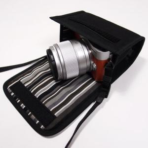 LUMIX GF9ケース(ブラック・アルバグレイ)-- 単焦...