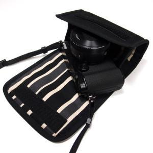 Nikon1 V3+標準パワーズームレンズ装着時に収納ができるケースです。  縫製は一般的な工業製品...