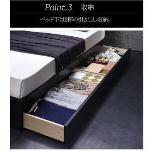 ベッド 収納 シングル フレーム 棚・コンセント付き収納ベッド ヴェガ フロアベッド フロアベット シングルサイズ シングルベッド|y-syo-ei|06