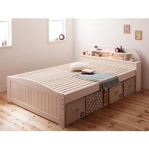 すのこベッド すのこベット セミダブル 照明 宮棚 コンセント付き ベッド 収納 おしゃれ かわいい 可愛い おすすめ|y-syo-ei