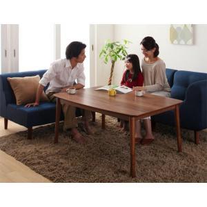 北欧デザイン高さ調整こたつテーブル 長方形(120×80)|y-syo-ei
