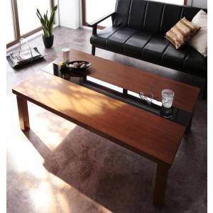 こたつテーブル 長方形 120×80 こたつ テーブル アーバンモダンデザインこたつテーブル Brent Wood ブレントウッド 薄型ヒーター 暖房器具 y-syo-ei