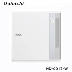 ダイニチ ハイブリッド加湿器 HD-9017-W ホワイト 木造和室14.5畳 プレハブ洋室24畳 ...