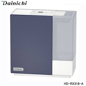 ダイニチ ハイブリッド加湿器 HD-RX318-A ネイビーブルー 木造和室5畳 プレハブ洋室8畳 ...