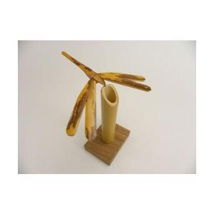バランストンボ 1匹 台座付 国産 日本製 滋賀県産 職人手作り 絶妙なバランス ゆらりゆらりと揺れる やじろべえ プレゼント 安心安全 y-takei