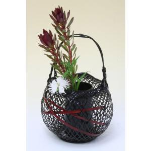 由布竹花篭 おぐら 国産 日本製 竹かご 篭 花を彩る 花瓶 部屋が華やぐ 花が引き立つ 茶室 床の間 仏間 玄関 棚 テーブル 贈り物 プレゼント 楽天店より15%OFF y-takei