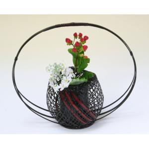 由布竹花みやこわすれ 国産 日本製 竹かご 花を彩る 花瓶 部屋が華やぐ 花が引き立つ 茶室 床の間 仏間 玄関 棚 テーブル 贈り物 プレゼント 楽天店より15%OFF y-takei