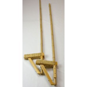 【受注生産】竹馬 足場の高さ30cm 国産 日本製 滋賀県産 職人手作り 乗り心地が良い 評判 頑丈 竹うま たけ馬 たけうま 贈り物 プレゼント|y-takei