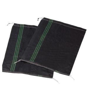 UVブラックストロング土のう袋 土嚢袋 UVBLACK土のう 耐候性 50枚セット 480×620m...
