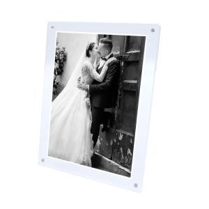 マグパチ フォトフレーム スタンダード A4判 サイズ 結婚祝い 写真立て 壁掛け 名入れ A4 2L A3 フォトスタンド