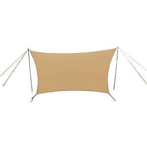 PANDA TCテントとの連結で快適度をアップできるTC素材のタープ。 ●雨の日にゆっくりくつろげる...