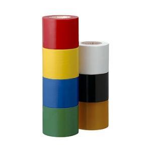 ヤマトビニールテープ 50mm幅10m巻 1本 (日本製 工作 色分け 導線 絶縁 工事 ビニールテープ) y-wakka