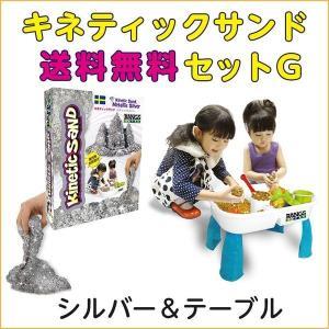 キネティックサンドセット(シルバー)テーブルセットG(送料無...