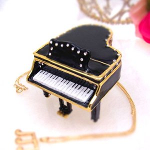 ジュエリーボックス アクセサリーケース ピアノ   アクセサリー収納|ya-piearth