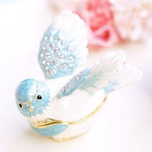 ジュエリーボックス アクセサリーケース 幸せの鳥  アクセサリー収納|ya-piearth