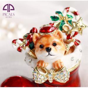 ジュエリーボックス アクセサリーケース ふくのクリスマス  アクセサリー収納 ya-piearth