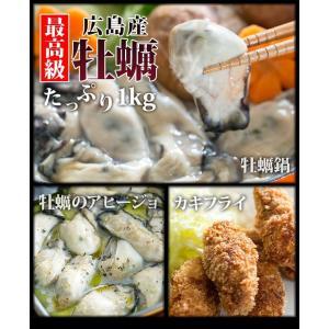 牡蠣の生産量日本一を誇る、最高級の広島産カキを急速冷凍!旨さがギュっと詰まった新鮮な状態でお届けしま...