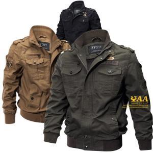 M-65 M65 ジャケット ミリタリージャケット ブルゾン ジャンバー アウター 陸軍 ミリタリーファッション 秋冬 メンズ|yaa