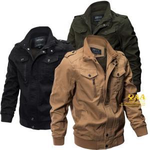 ジャケット メンズ M-65 M65 ミリタリージャケット ブルゾン ジャンバー アウター 軍物 ミリタリーファッション|yaa
