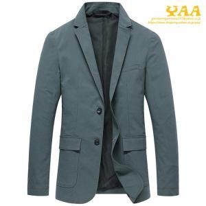 テーラードジャケット ビジネスジャケット メンズ 秋 ジャケット 2ツボタン スーツジャケット 高品質 カジュアル 通勤|yaa