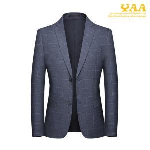 スーツジャケット メンズ チェック テーラードジャケット ビジネスジャケット ジャケット 2ツボタン カジュアル 通勤 秋|yaa