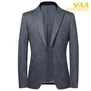 ジャケット メンズ スーツジャケット ビジネスジャケット テーラードジャケット 2ツボタン おしゃれ 上品 通勤 カジュアル 秋|yaa