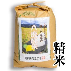 【減農薬・化学肥料不使用】てらださん家の八鹿豚米(ようかぶたまい) 15kg 精米 冷めてももっちり甘くておいしい養父市産のお米 父の日 ギフト yabulovewalker