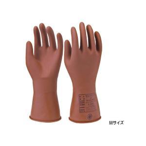 ヨツギ 低電圧絶縁ゴム手袋 ネオフィット M 作業 防護 保護 YS-102-58-M