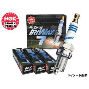 ホンダ CR-Z ZF1 ハイブリッド NGK 高熱価プラグ IRIWAY7 4558 4本セット 送料込