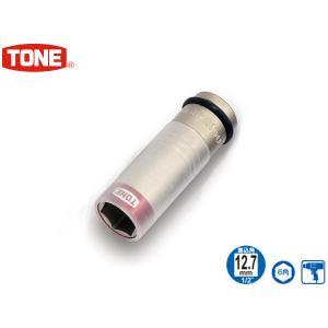 TONE トネ プロテクター付インパクト用薄形ホイルナットソケット 4AP-19N|yabumoto