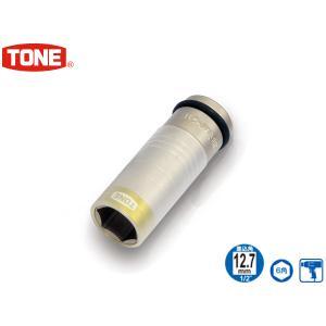 TONE トネ プロテクター付インパクト用薄形ホイルナットソケット 4AP-21N|yabumoto