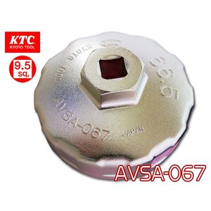 KTC カップ型 オイルフィルタレンチ AVSA-067|yabumoto
