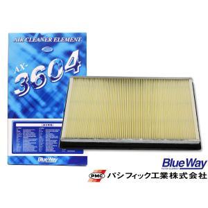 エルグランド E51 NE51 PE52 PNE52 エアエレメント エアー フィルター クリーナー パシフィック工業 BlueWay AX-3604|yabumoto