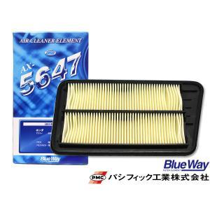 バモス ホビオ HM3 HM4 HJ1 HJ2  H22/8〜R1/7現在 エアエレメント エアー フィルター クリーナー パシフィック工業 BlueWay AX-5647|yabumoto