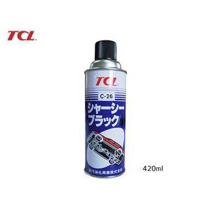 TCL シャーシブラック 油性 スプレー 420ml C-26|yabumoto