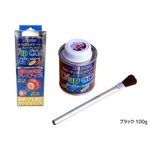 耐熱サビ防止 キャリパー塗料 ディーアップコート ブラック|yabumoto