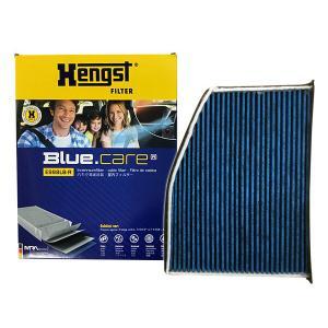 VW GOLF TOURAN 1TBMY 1TBLG 右ハンドル車 エアコンフィルター 活性炭強化 ヘングスト ブルーケア HENGST BLUE CARE 輸入車 E998LB-R yabumoto